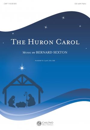The Huron Carol SSA Cover